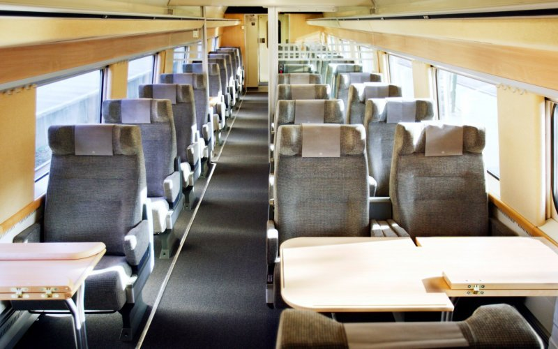 Train Reservations in Denmark | All Reservations & Passes | Interior X2000 First class