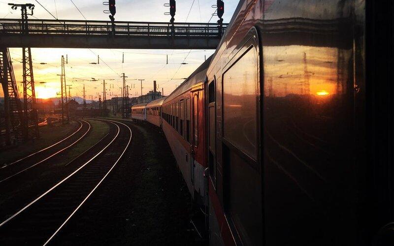 Night Trains Croatia   Trains in Croatia   Night train on its way from Zagreb to Split