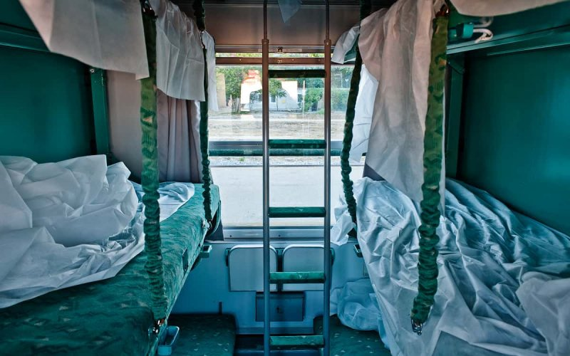 Night Trains Croatia   Trains in Croatia   2nd class couchette sleepers