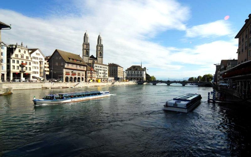 Trains to & from Zurich | City centre
