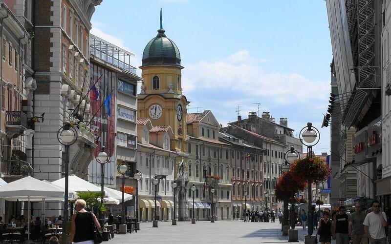 Discover Croatia by train | Rijeka by train