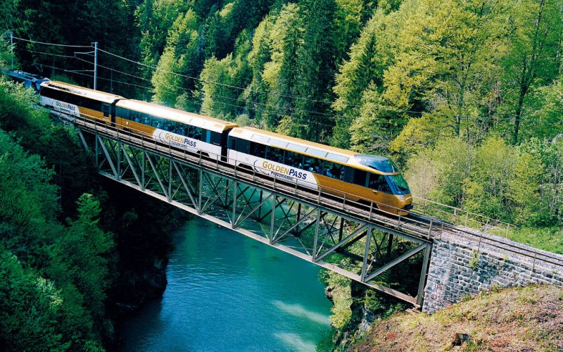 Golden Pass - Panorama train - Train tickets and rail passes Switzerland
