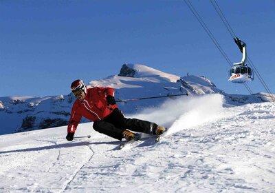 Wintersportvakanties per trein Zwitserland