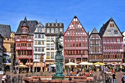 Stedentrip Frankfurt - Trein en Hotel