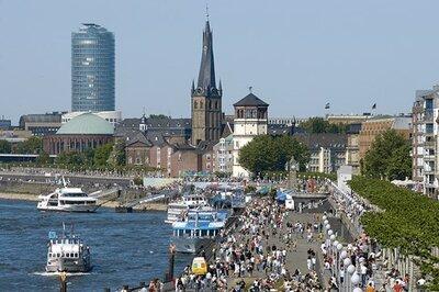Stedentrip Dusseldorf - Trein en Hotel