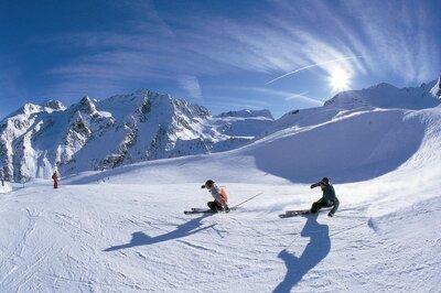 Wintersportvakanties per trein Oostenrijk
