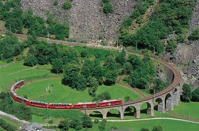 Treinreizen in Zwitserland - Rondreizen