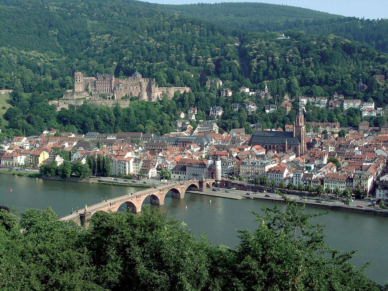 Treinpassen, treinkaartjes en treintickets - Trein naar Heidelberg