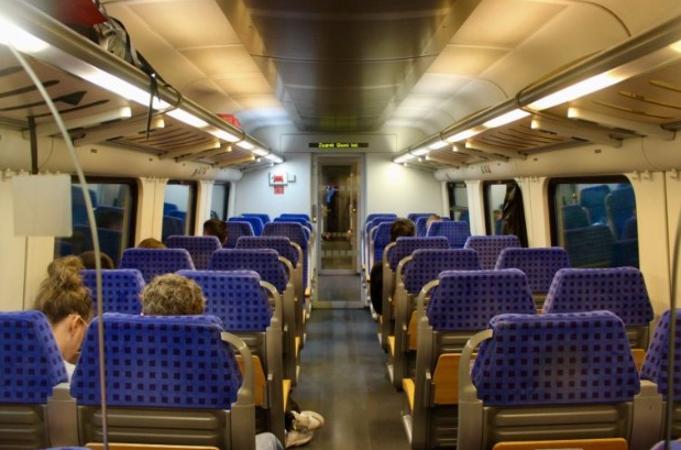 Intercity Croatia Trains In Croatia Happyrail