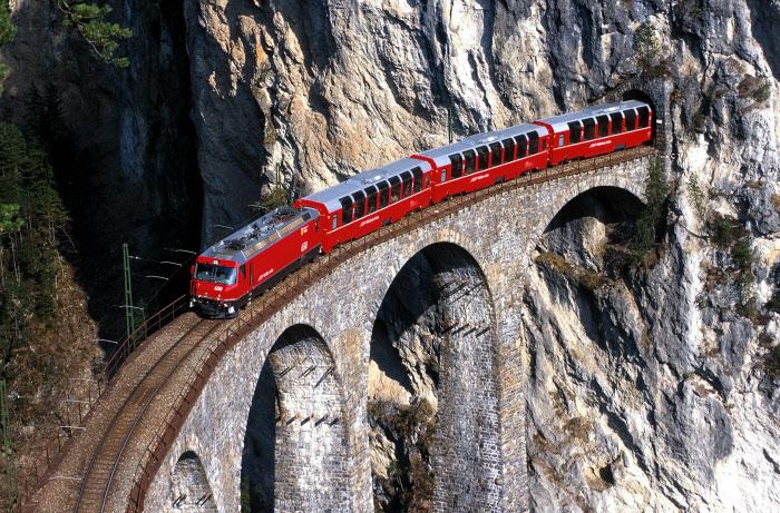 Bernina Express Zwitserse reispas