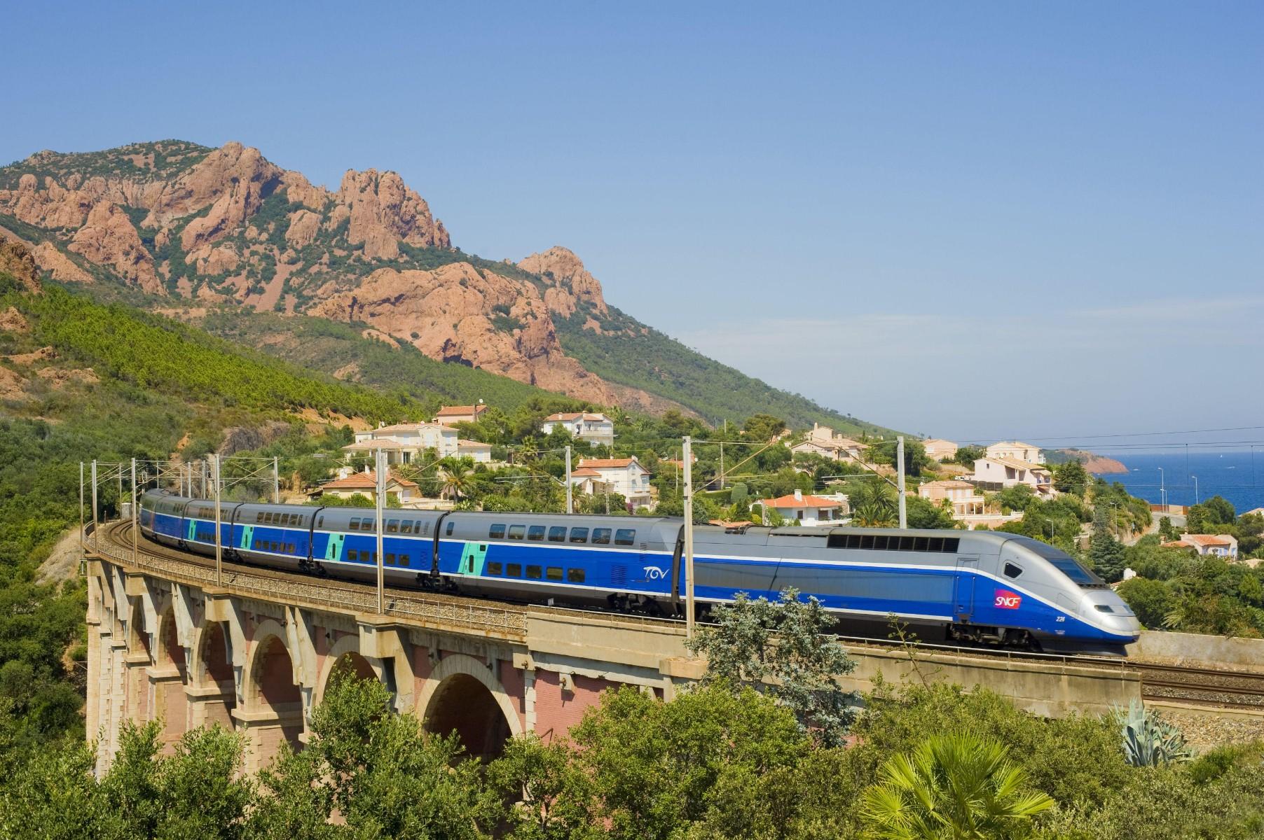 Alle treintickets en treinkaartjes - TGV Cote Azur