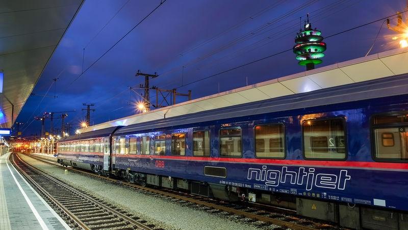 Autozug Hamburg - Wien
