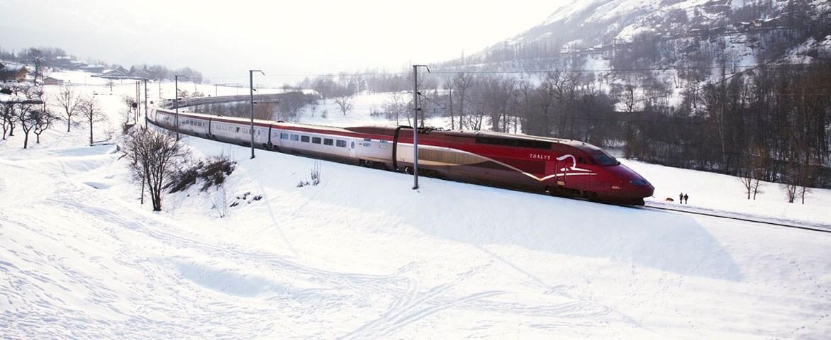 Ski Thalys - Trein naar Frankrijk