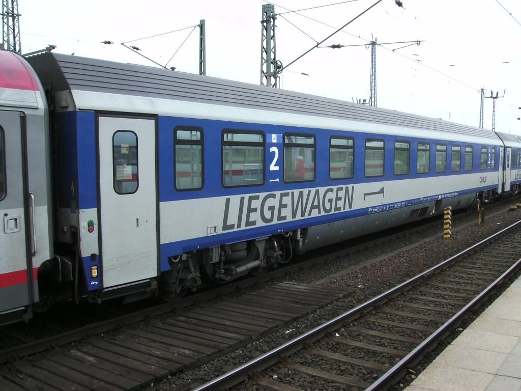 Autotrein Duitsland - Oostenrijk - Hamburg naar Wenen
