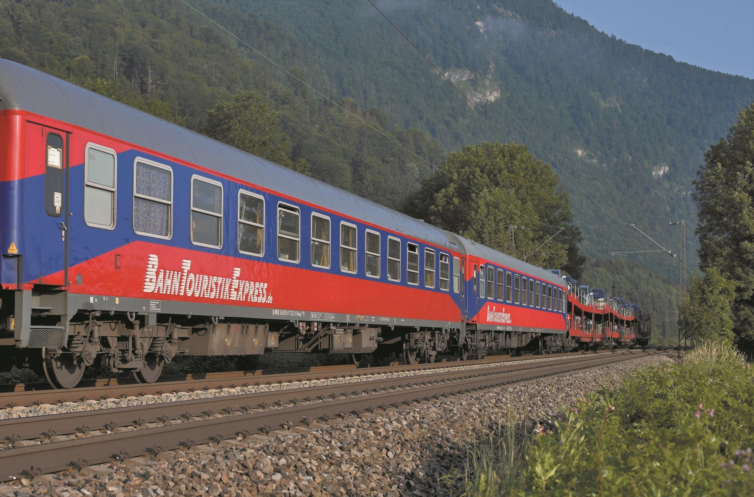 Autotrein Zwitserland - Hamburg - Basel