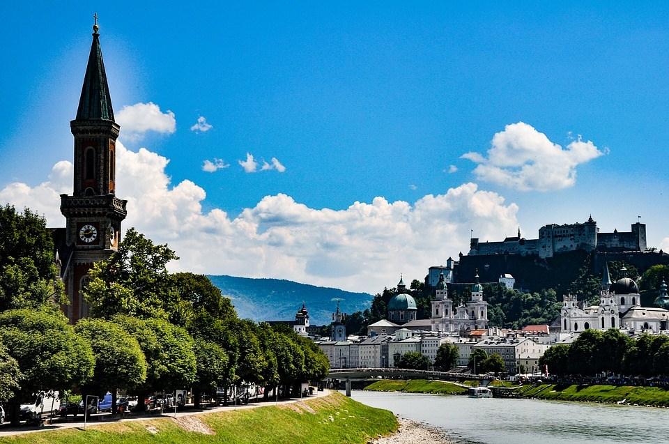 Trein Salzburg - Internationale treintickets