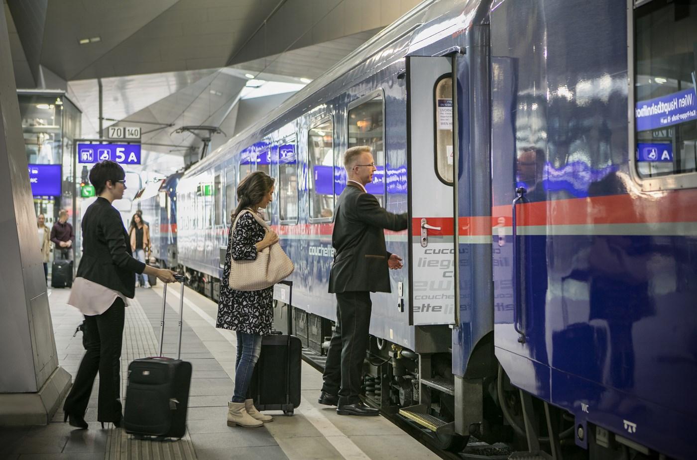 OBB Nightjet - Internationale treintickets