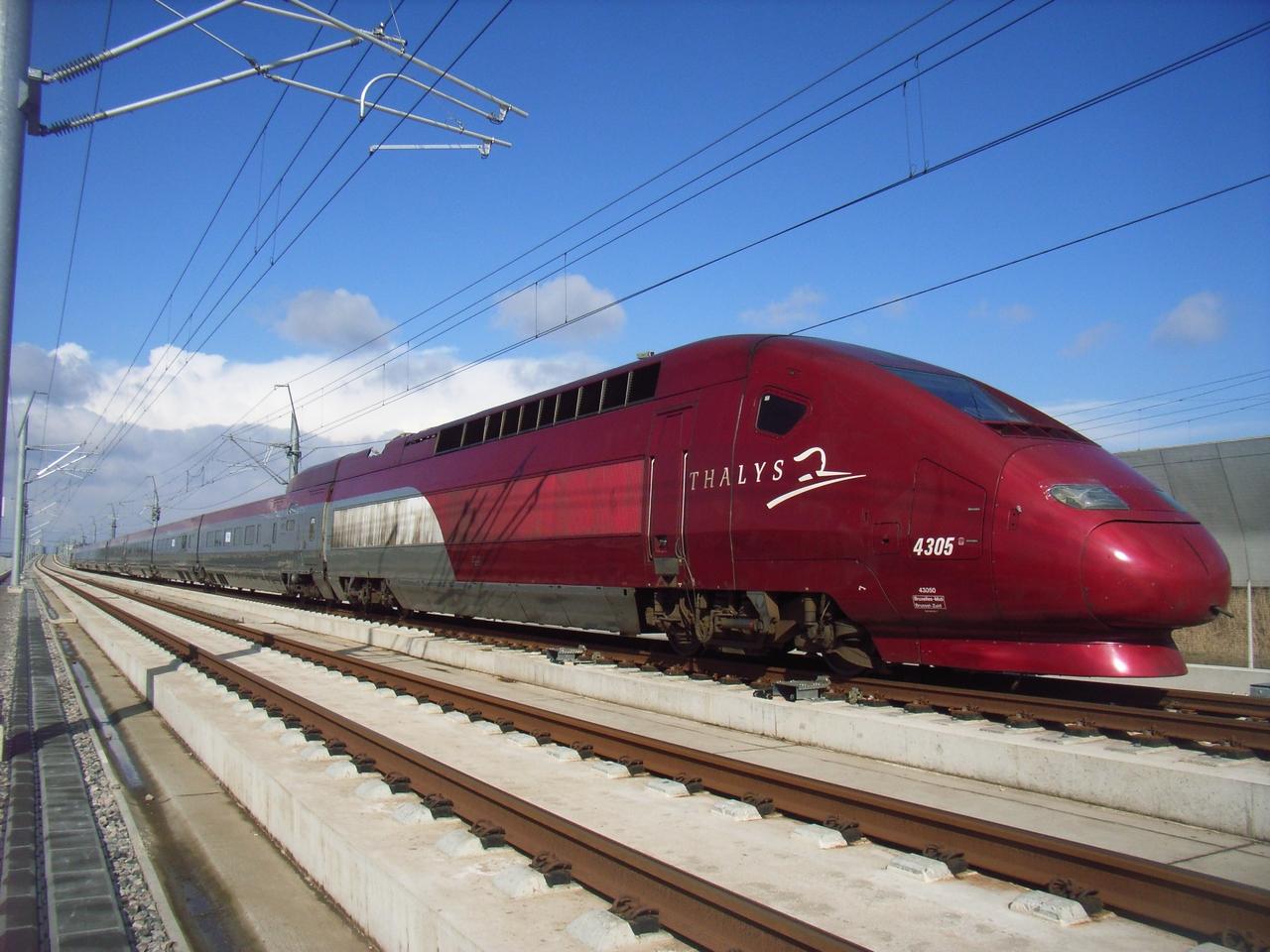Trein Brussel - Internationale treintickets