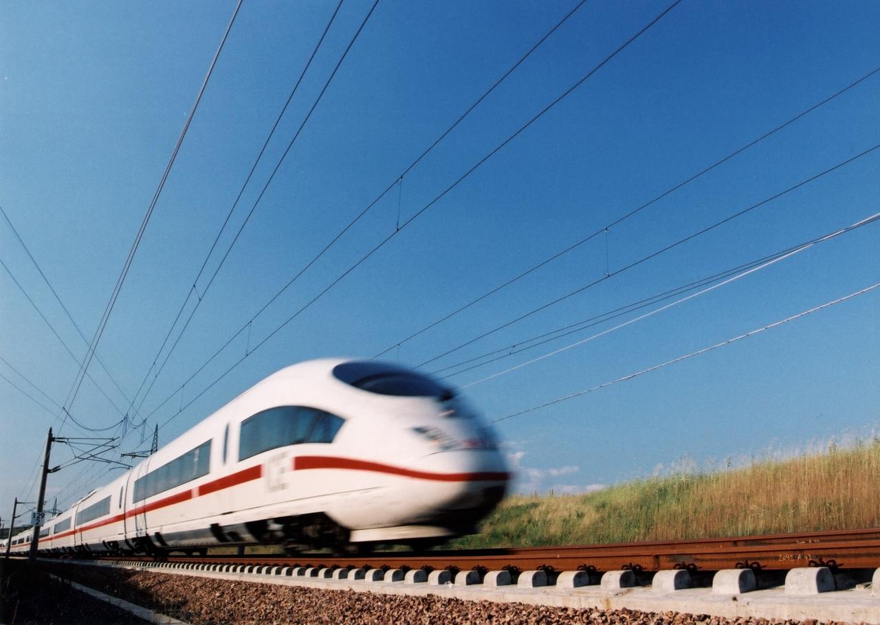 Trein Frankfurt - Internationale treintickets